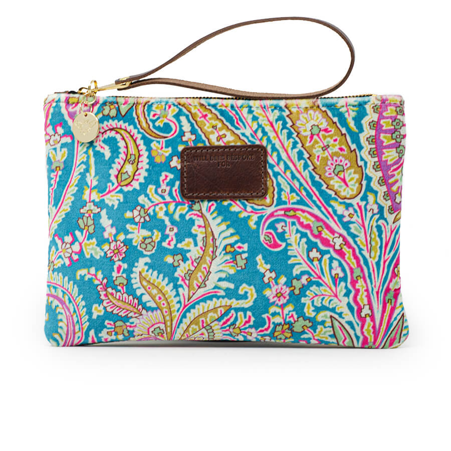 Frances Clutch - Liberty Felix Raison Lagoon