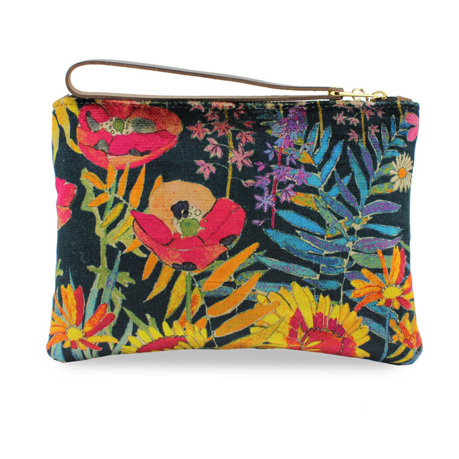 Frances Clutch - Liberty Art Fabric - Will Bees Bespoke