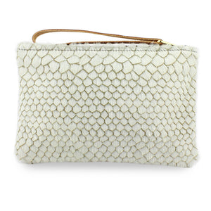 Frances Clutch - White Anaconda