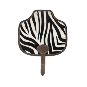 Additional Saddle Bag Panel - Zebra