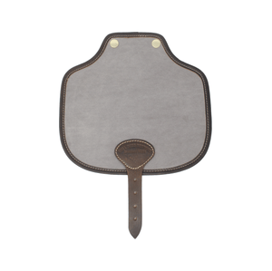 Additional Saddle Bag Panel - Grey Velvet