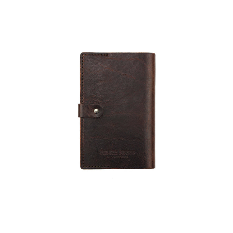 Leather Folio - to fit Pocket Notebook - Will Bees Bespoke