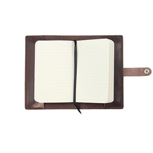Leather Folio to fit Pocket Notebook