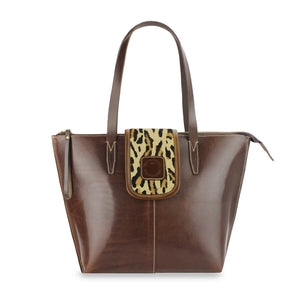 Additional Tote Bag Panel - Leopard