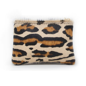 Jane Coin Purse - Leopard Print