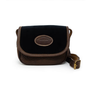 Mini Saddle Bag - Black Velvet