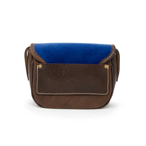 Mini Saddle Bag - Blue Velvet