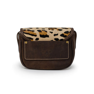 Mini Saddle Bag - Leopard Print
