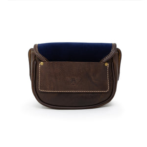 Mini Saddle Bag - Navy Velvet