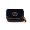 Mini Saddle Bag - Navy Velvet - Will Bees Bespoke