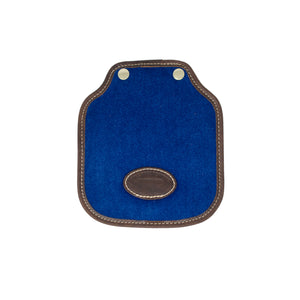 Additional Mini Saddle Bag Panel - Blue Velvet
