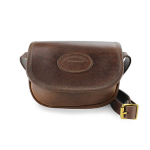 Mini Saddle Bag - Leather