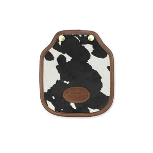 Additional Mini Saddle Bag Panel - Black Cow