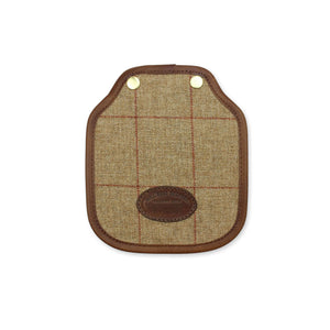 Additional Mini Saddle Bag Panel - Brown Tweed Check