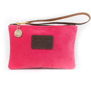 Ada Mini Clutch - Pink Velvet