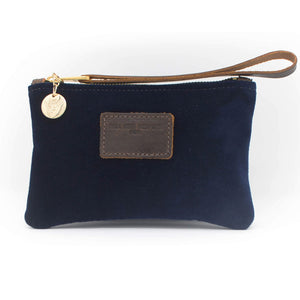 Ada Mini Clutch - Navy Velvet