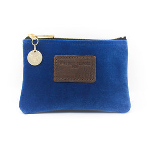 Jane Coin Purse - Blue Velvet