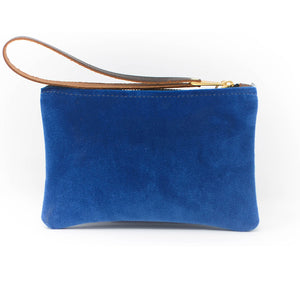 Ada Mini Clutch - Blue Velvet
