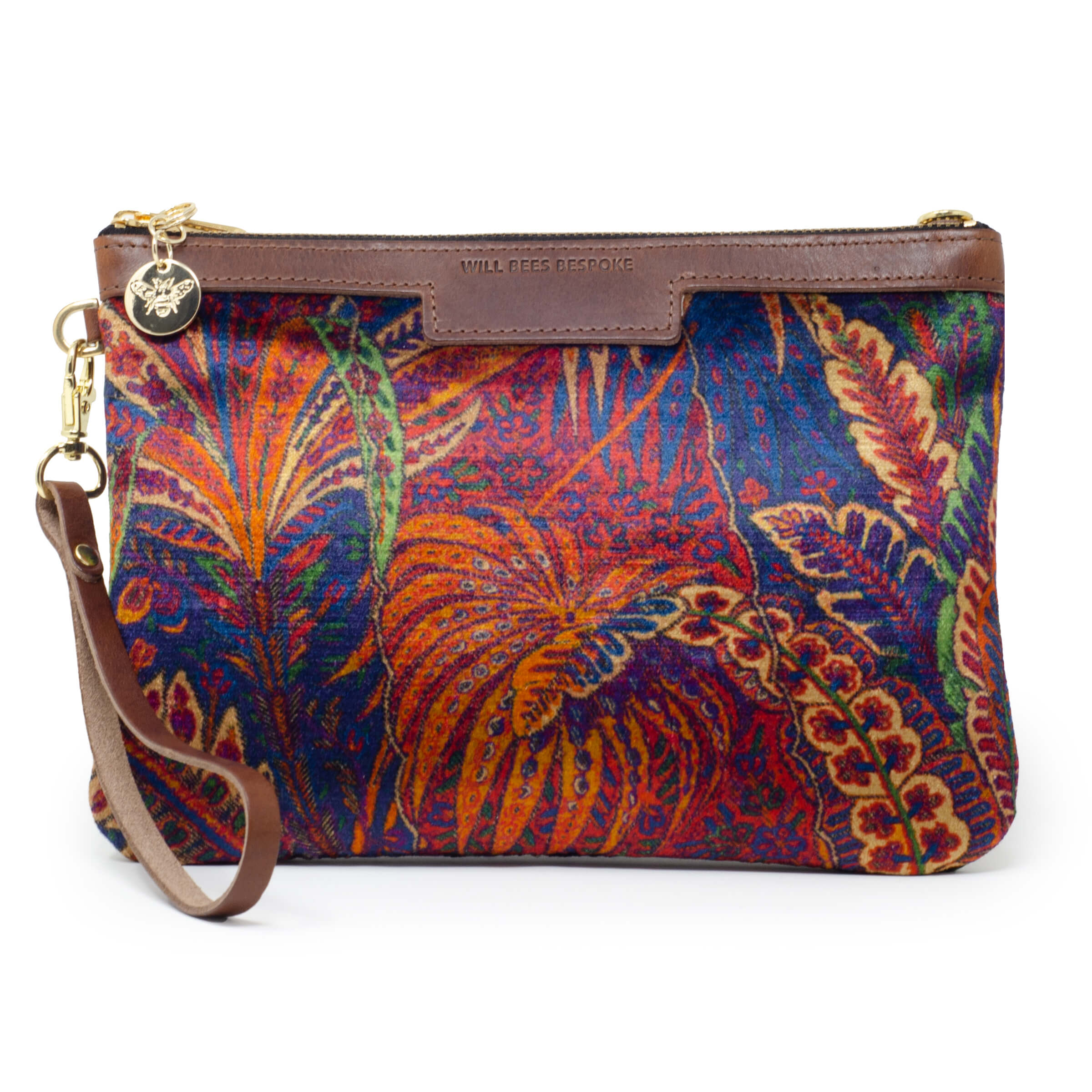 Premium Diana Clutch - Liberty Shand Autumn - Will Bees Bespoke