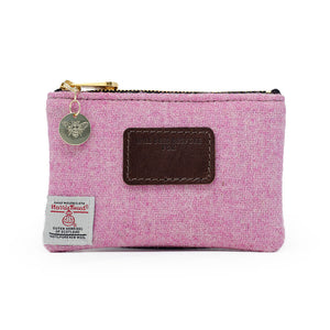 Jane Coin Purse - Harris Tweed® Light Pink