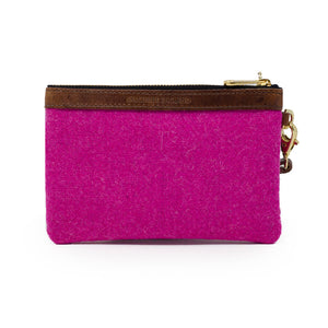 Premium Diana Mini Clutch - Harris Tweed® Bright Pink