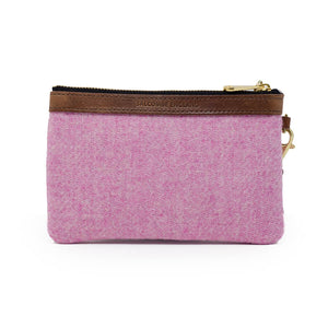 Premium Diana Mini Clutch - Harris Tweed® Light Pink