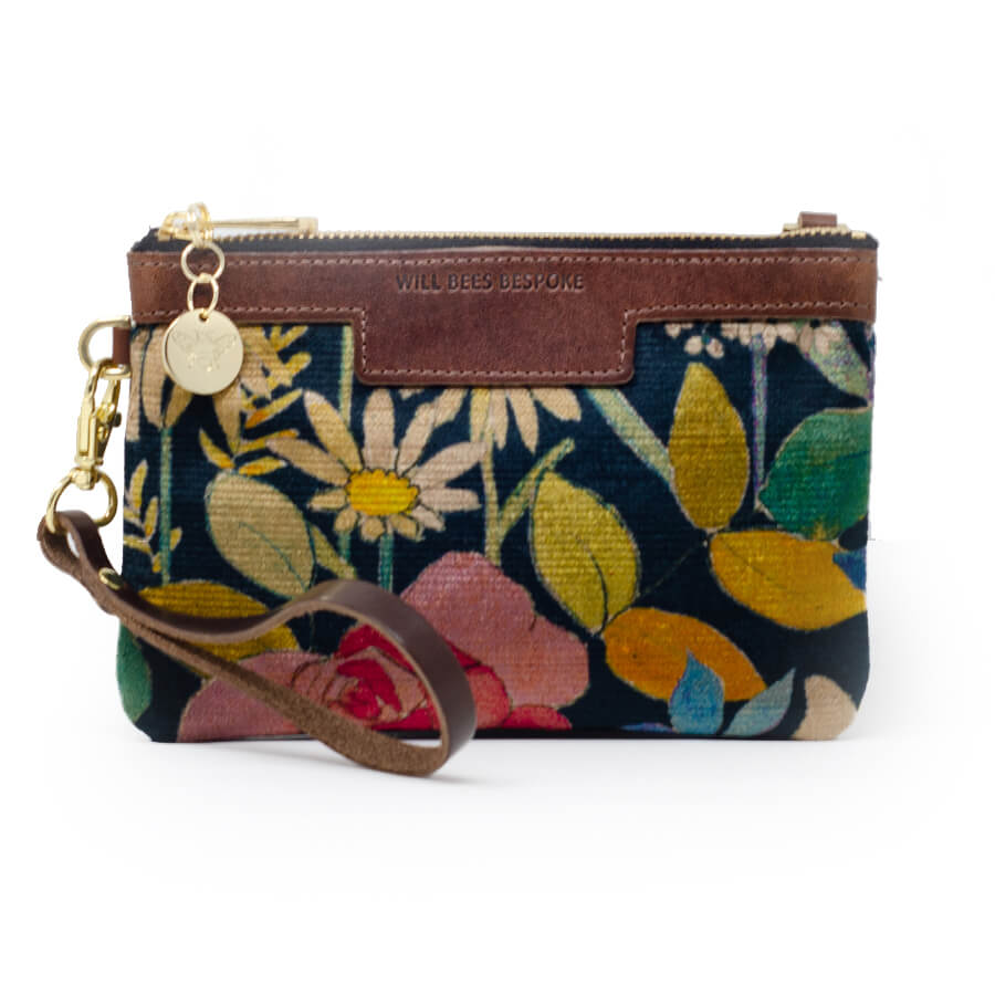 Premium Diana Mini Clutch - Liberty Faria Flowers - Will Bees Bespoke
