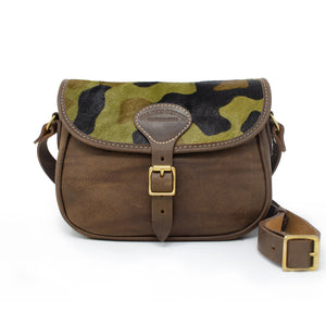Rosalind Saddle Bag - Camo Print