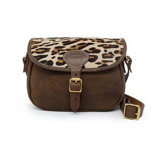 Rosalind Saddle Bag - Leopard Print