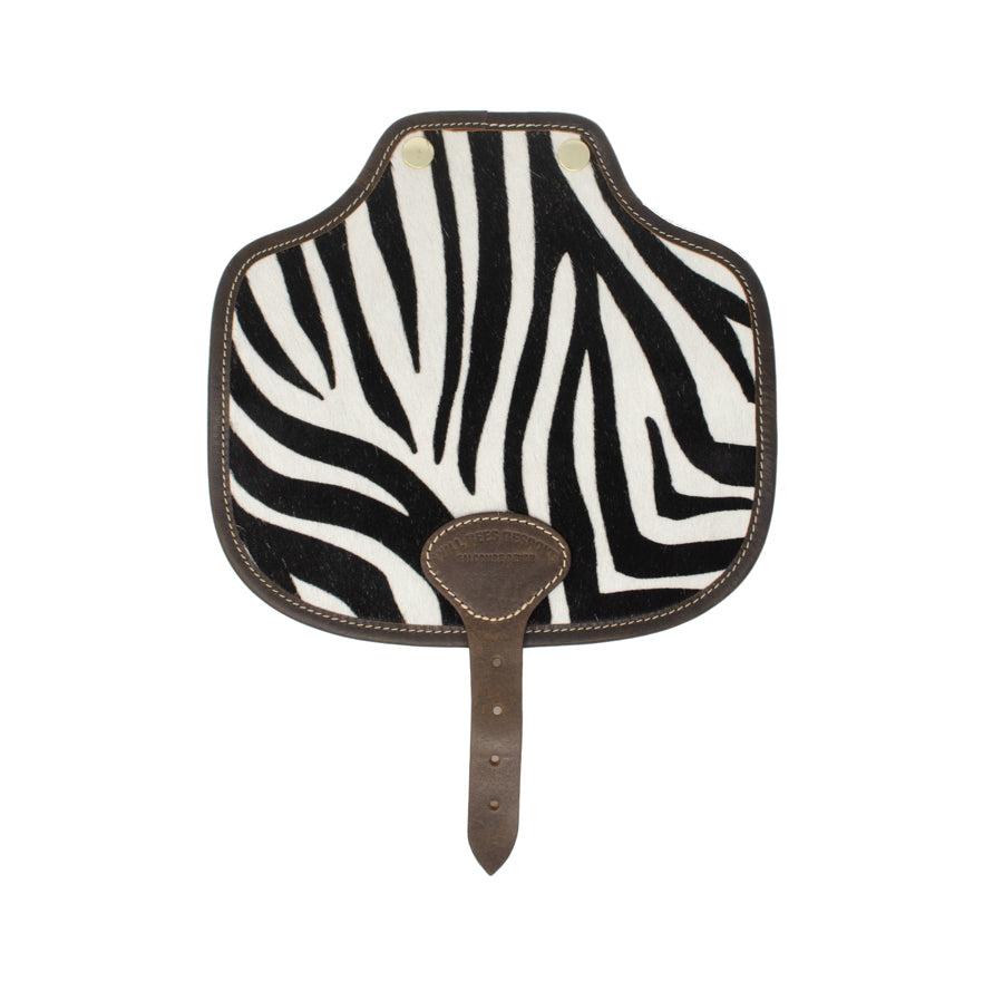 Rosalind Saddle Bag - Zebra Print - Will Bees Bespoke