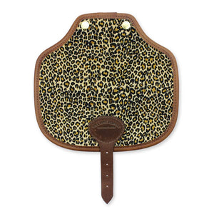 Additional Saddle Bag Panel - Light Leopard Velvet