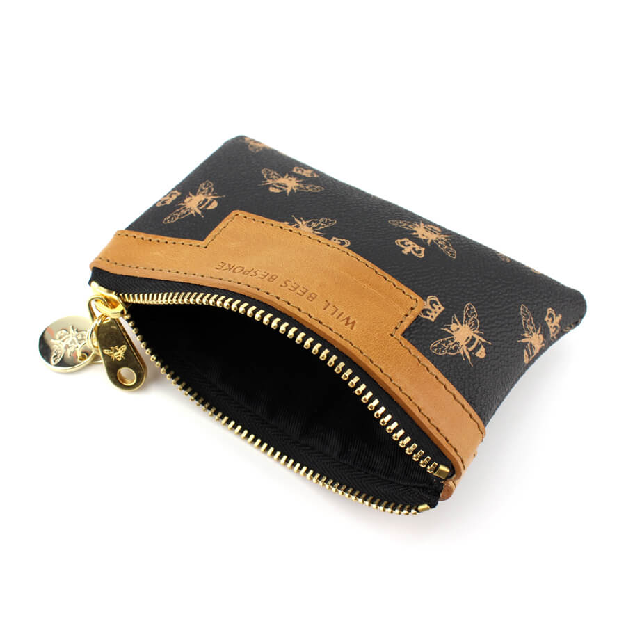 Signature Coin Purse - Black