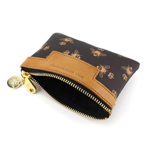 Signature Coin Purse - Brown