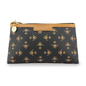 Signature Cosmetic Bag - Black
