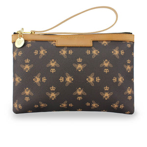 Signature Frances Clutch - Brown
