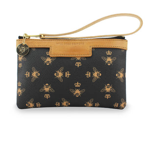 Signature Mini Clutch - Black