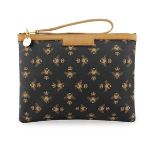 Signature Charlotte Clutch - Black