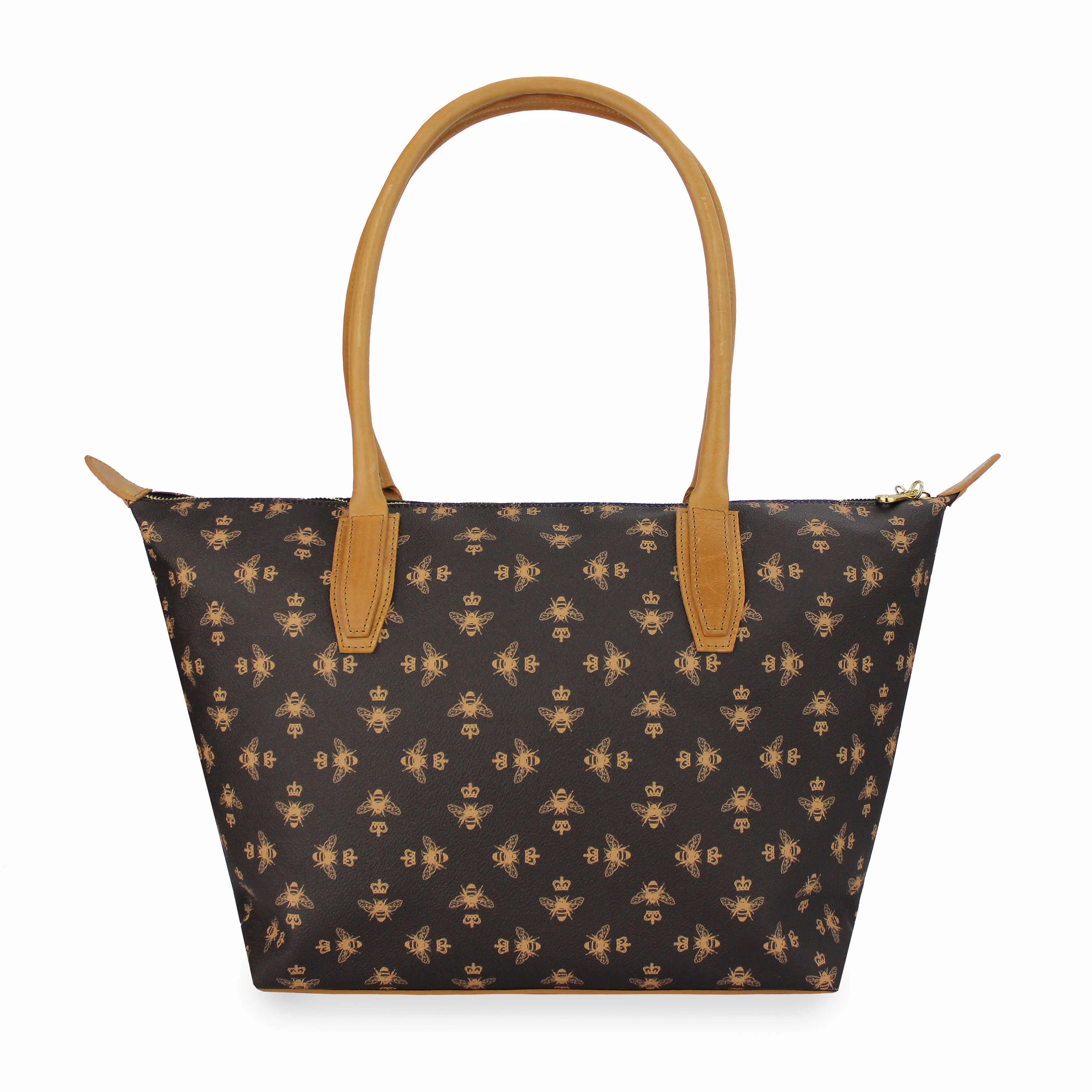Signature Tote - Brown - Will Bees Bespoke