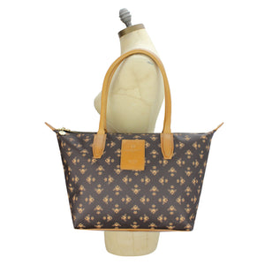 Signature Tote - Brown