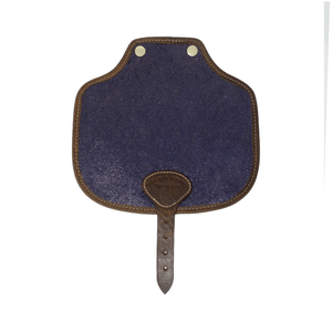 Additional Saddle Bag Panel - Blue Paisley Sparkle