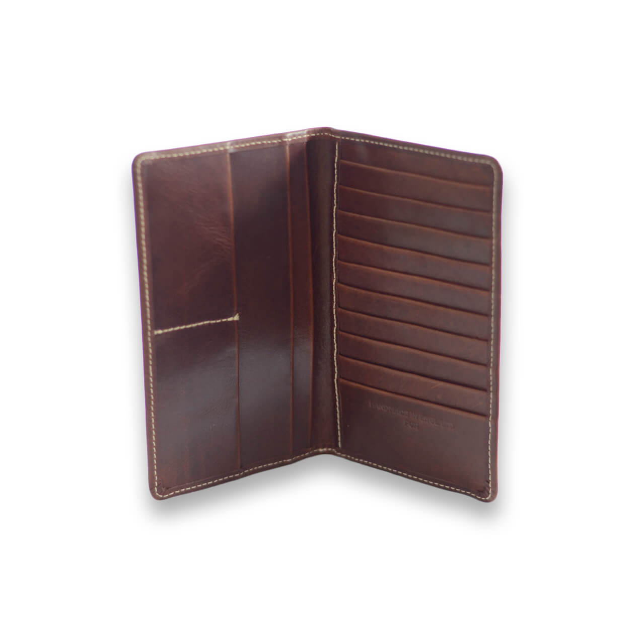 Tall Wallet in Brown - Will Bees Bespoke