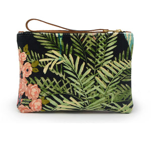 Frances Clutch - Tropical Velvet