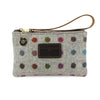 Ada Mini Clutch - Multi Polkadot Tweed