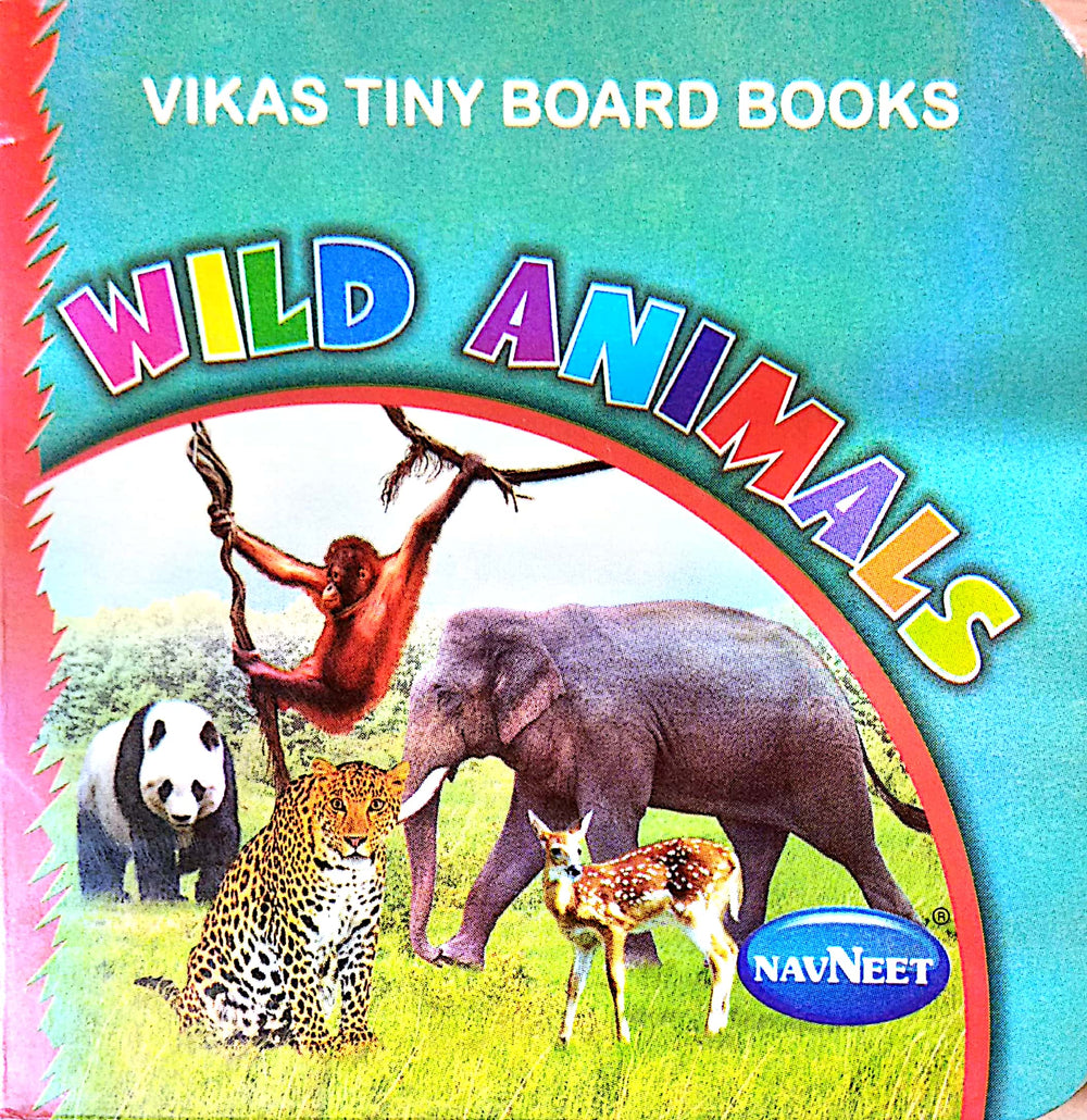 Vikas Tiny Board Books- Wild Animals