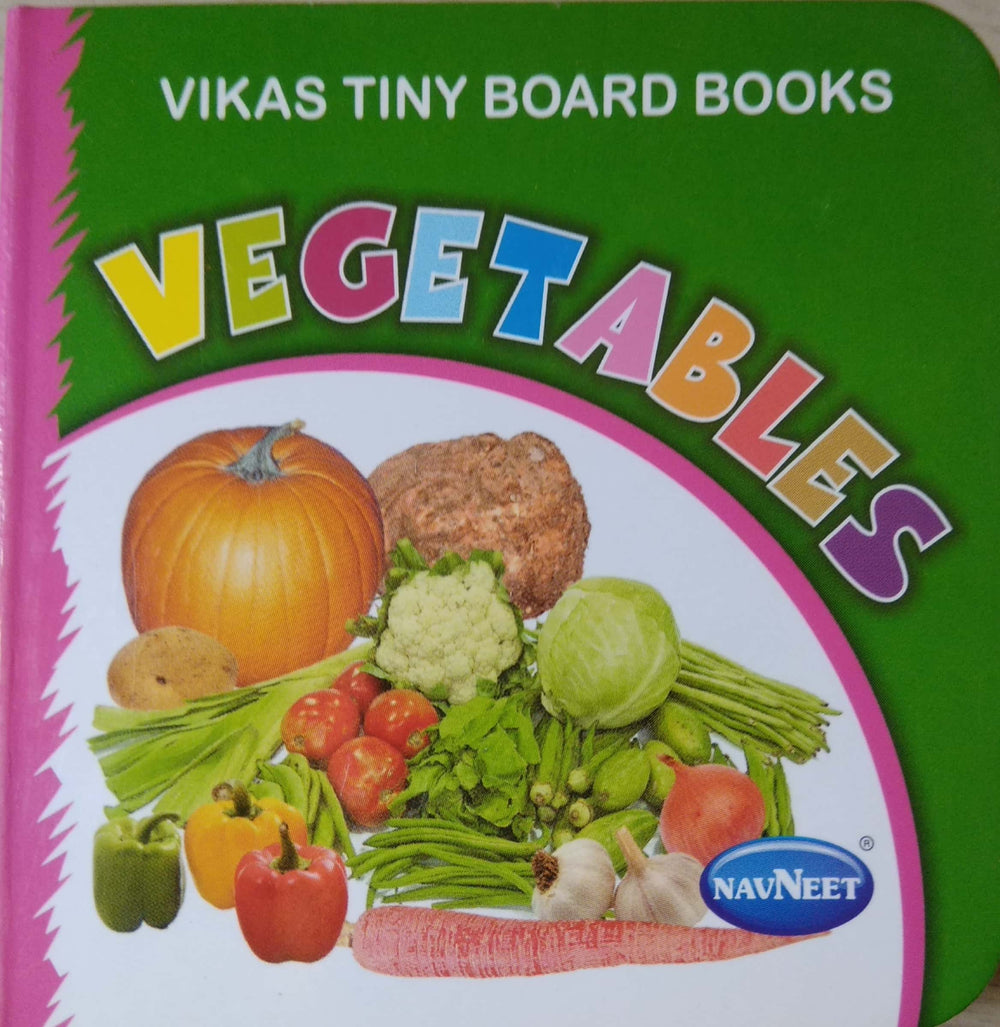 Vikas Tiny Board Books- Vegetables