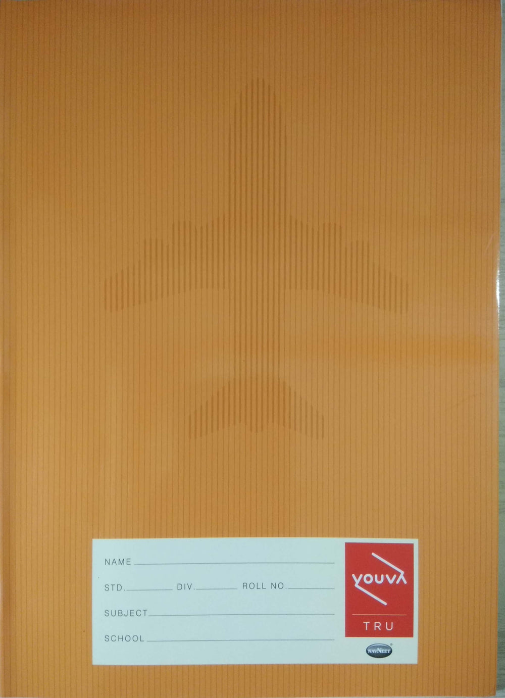 Brown soft bound note book Jumbo size - Double line (172 Pages)