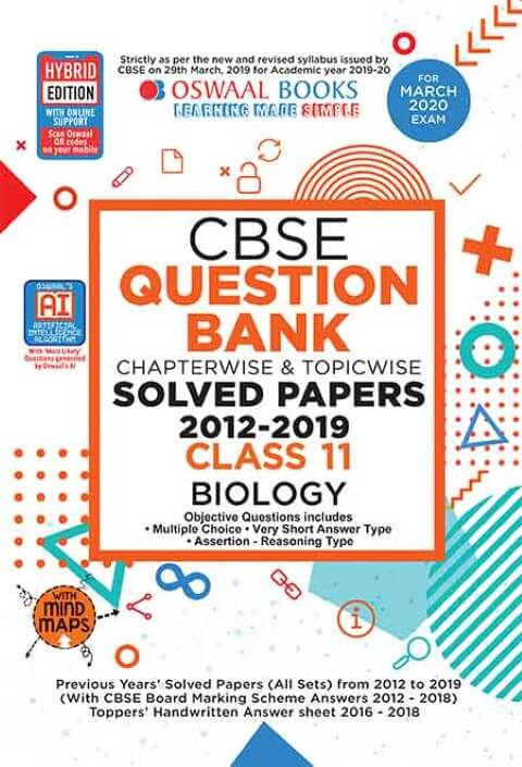 Oswaal CBSE Question Bank Class 11 Biology