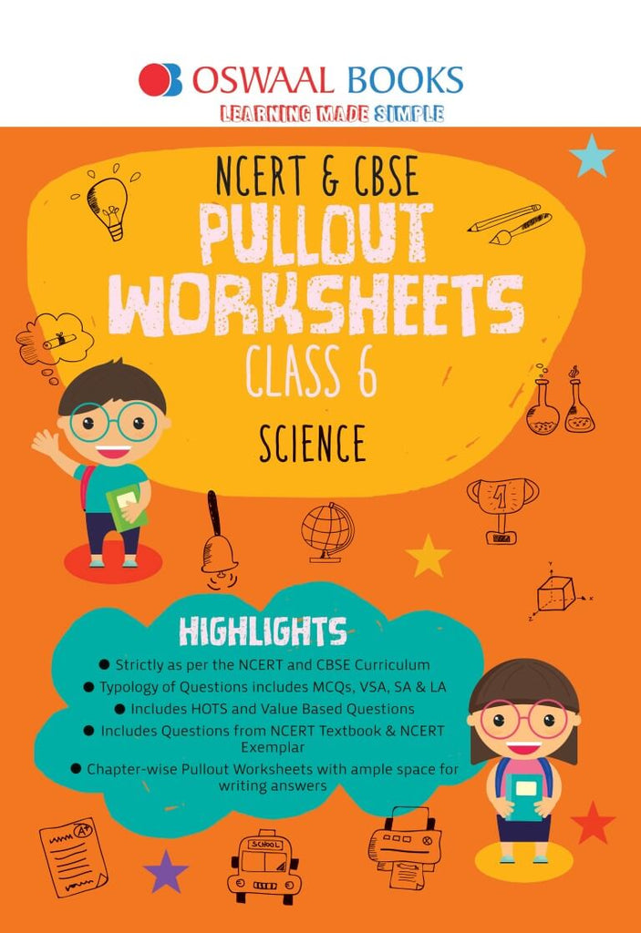 Oswaal NCERT & CBSE Pullout Worksheet Class 6 Science