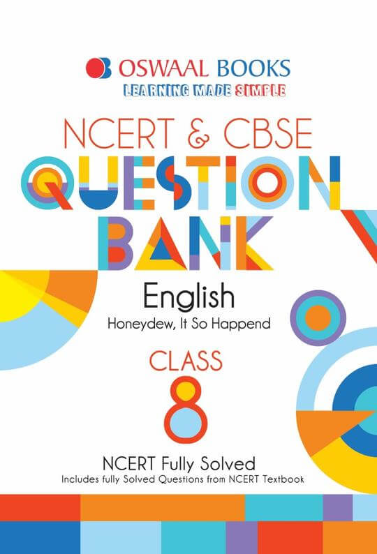 Oswaal CBSE Question Bank English for Class 8