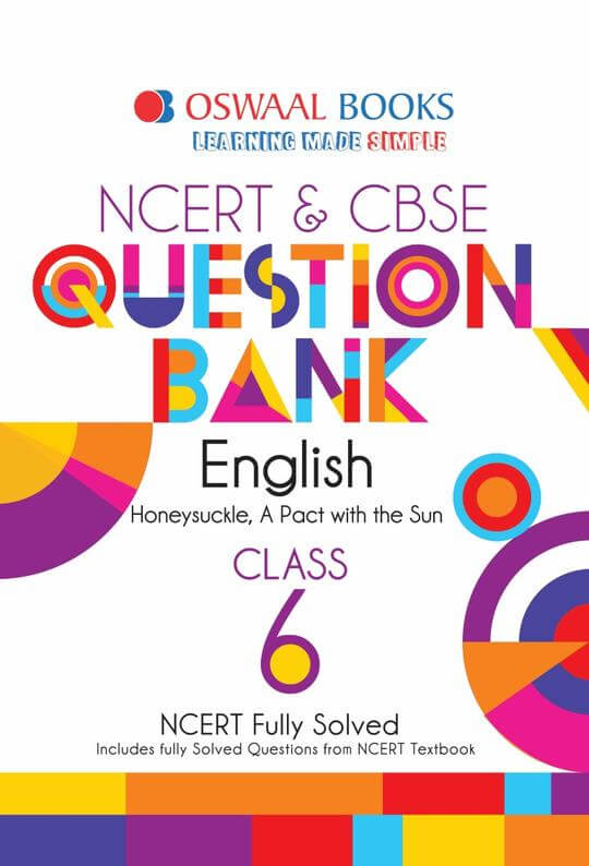Oswaal CBSE Question Bank English for Class 6